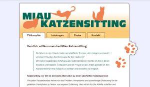 Logo, Webseite und Texte