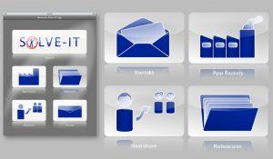 UI-Design für App-Konzept